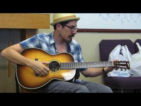 Open C Tuning - David Hamburger - Acoustic Music Camp