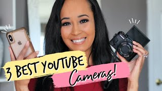 3 Best Cameras for YouTube - One Affordable Option! | Kym Yvonne