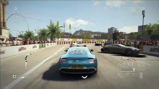 GRID Autosport-ASTON MARTIN VANQUISH/BARCELONA/GAMEPLAY PS3