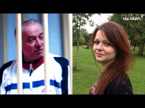 Russian spy and daughter 'targeted with nerve agent' | ITV News