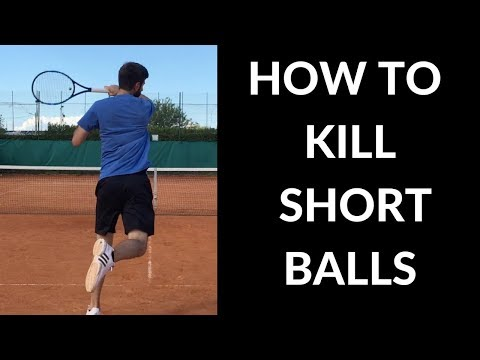 How To Kill Short Balls | Tennis Lesson | Forehand - Connecting Tennis