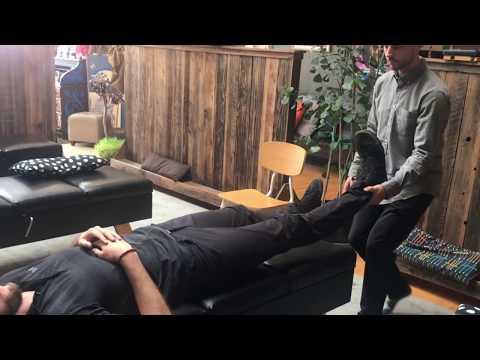 Chiropractor Adjusts Chiropractor at The Source Chiropractic Oakland