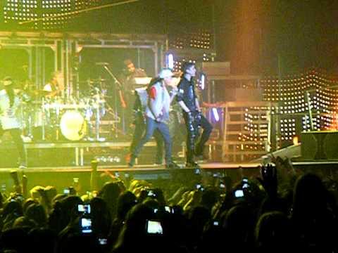 Justin Bieber and J Smith - Never Say Never metro radio arena newcastle