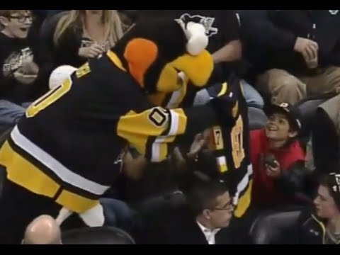 Young Fan Receives Jersey and Puck after Puck Was Stolen From Him