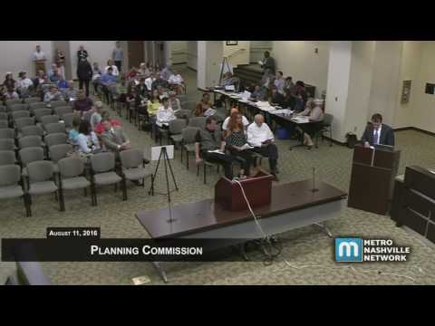 08/11/2016 Planning Commission Meeting