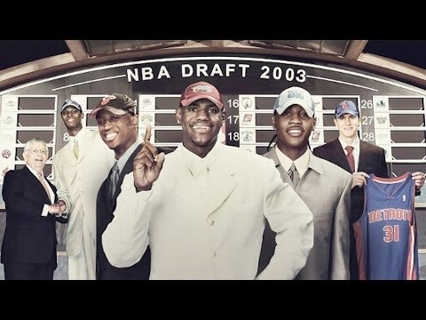 2003 NBA Draft Revisited (LeBron / Darko / Melo / Bosh / D-Wade) (HD)