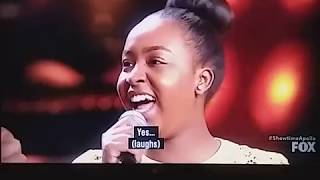 Video 16 year old from England singing Glory... Showtime at the Apollo download MP3, 3GP, MP4, WEBM, AVI, FLV Mei 2018