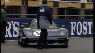 Jaguar XJR-15 Supercar Overview and Track Time