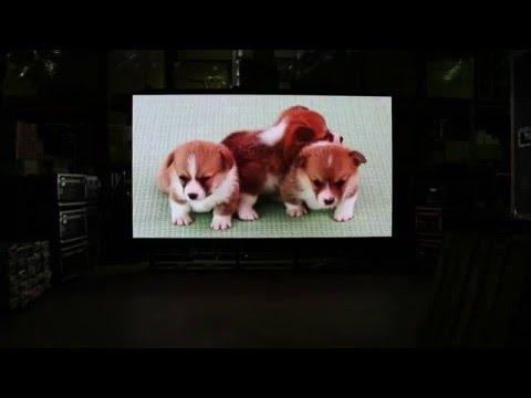 Cветодиодный экран высокого разрешения POLYLED P2