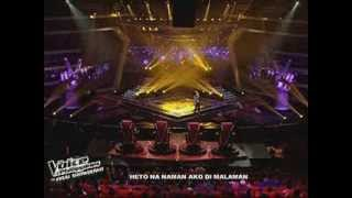 """THE VOICE Philippines Finale : Mitoy Yonting """"BULAG"""" Live Performance"""