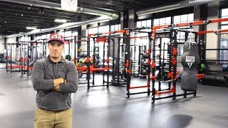 Touring Rogue Fitness' Insane 600K SQ FT Headquarters | Behind the Iron