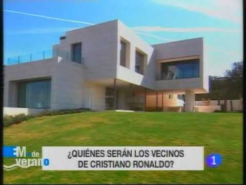 Cristiano ronaldo ya tiene casa en madrid youtube - Fotos de la casa de cristiano ronaldo ...
