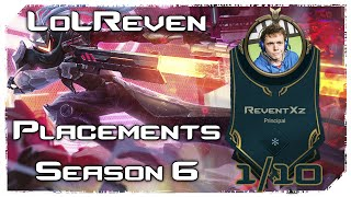 [1/10] PLACEMENTS SEASON 6 - LUCIAN ADC (UNLUCKY FILL OPTION)