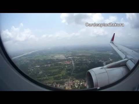 AirAsia Landing at Kota Bharu (WMKC/KBR) - SJ5000