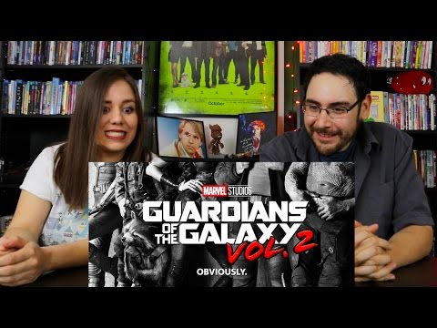 Guardians of the Galaxy VOL 2 - Official Teaser Reaction