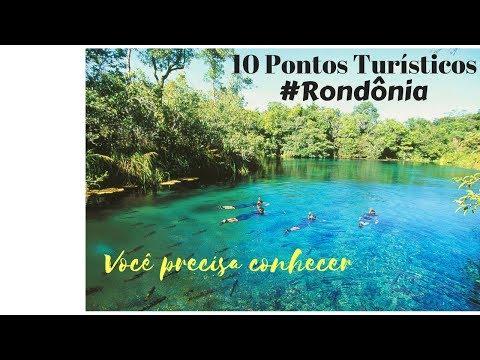 10 Pontos Turísticos em Rondônia