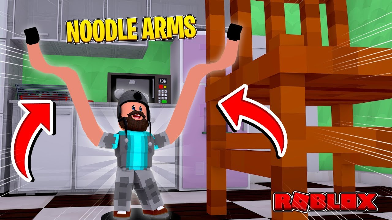 I Have Noodle Arms Roblox Youtube