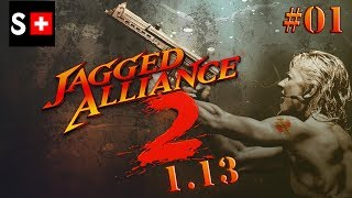 Jagged Alliance 2 (1.13 Patch) - EP 01: a troublesome start