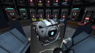 Забавный отрывок из Portal 2