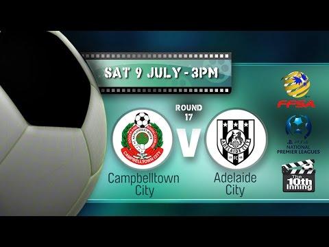 Round 17 Campbelltown City versus Adelaide City