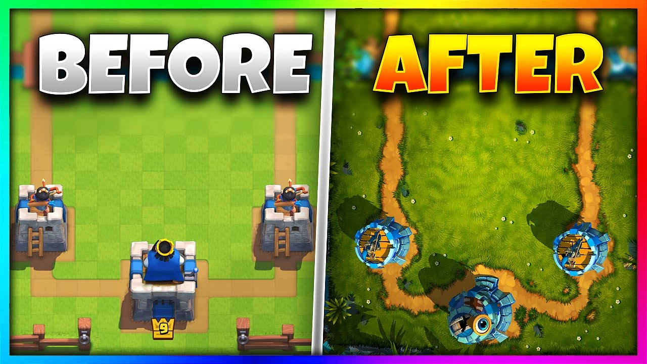 OMG! IF `Clash Royale` GOT BETTER GRAPHICS!!