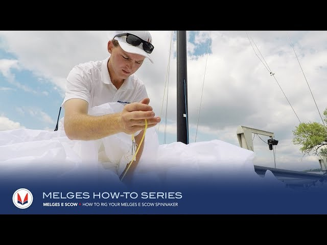 How to Rig the Melges E Scow Spinnaker