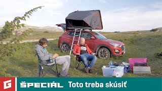 Macedónsko so stanom na streche- Hyundai Tucson 4WD SUV  - GARAZ.TV  špeciál NEW ENG SUB !