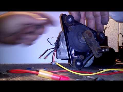 Wiper Motor Wire Config