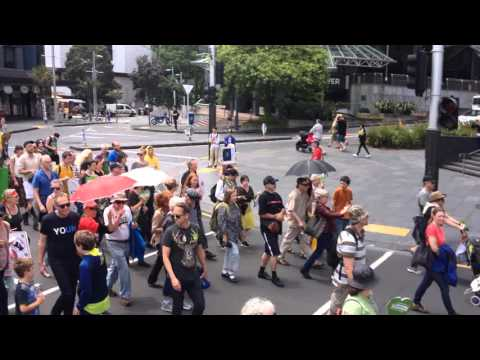 People's Climate March Auckland
