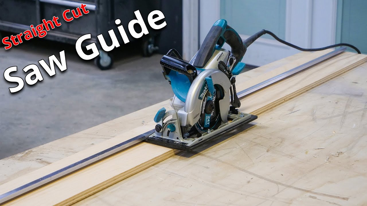 How to Cut your Plywood Straight Every Time | Stone Coat Epoxy