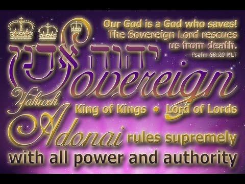 Sovereign God — Yahweh Adonai