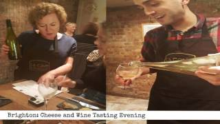 Brighton: Cheese and Wine tasting evening (60 second review)