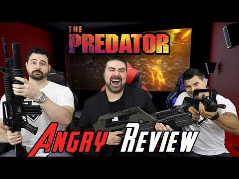 The Predator Angry Movie Review