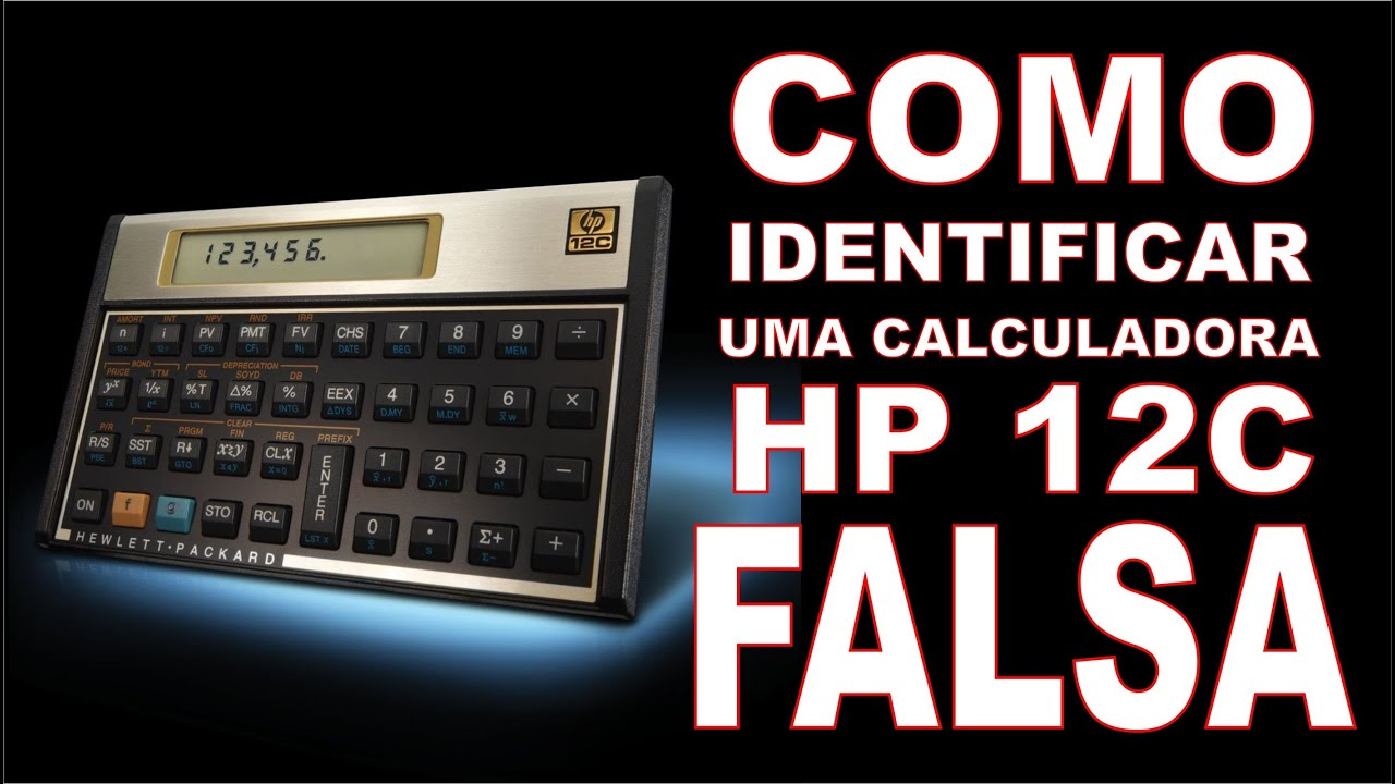 como identificar uma calculadora hp 12c falsa youtube rh youtube com calculadora financeira hp 12c gold manual portugues HP 12C Batteries