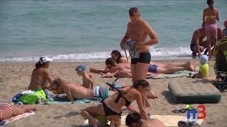 Общественная организация «Экологическая инициатива» проверила пляж Черноморска