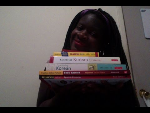 Language Learning Book Haul / /Korean Resources update