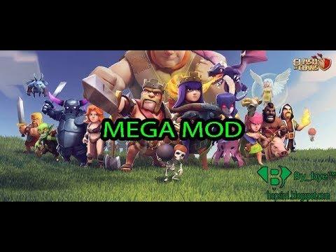 Clash Of Clans   MEGA MOD - Andorid