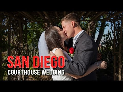 Courthouse San Diego Wedding