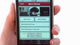 Yelp app - iPhone App Demo by iPhoneAppDemos.tv