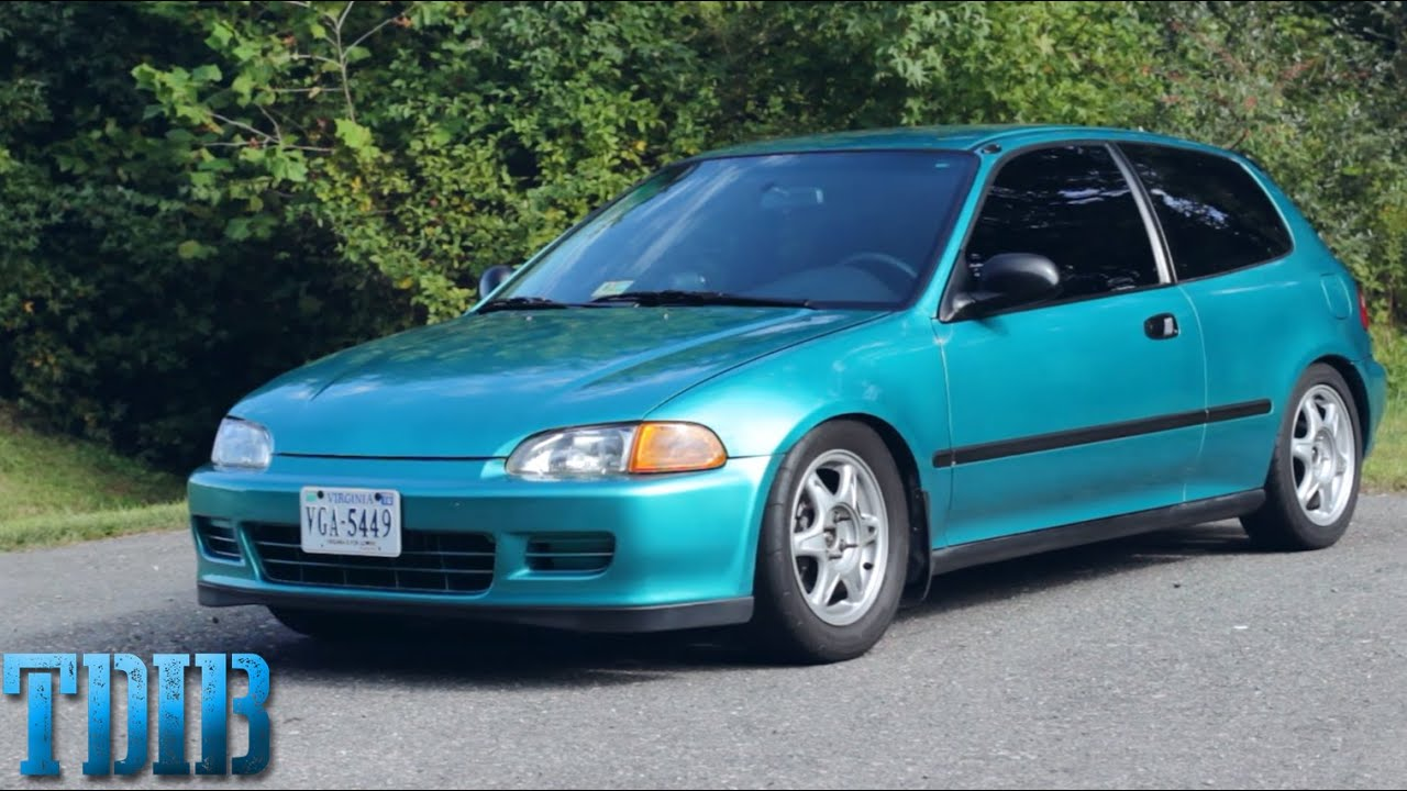 600 Hp Honda Sleeper Turbo Honda Eg Hatch Review Youtube