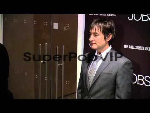 Joshua Michael Stern at 'Jobs' New York Premiere  Arriva...