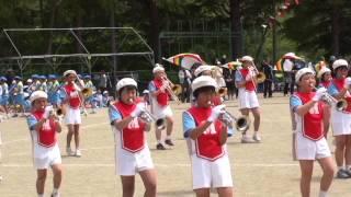 思い出の映像、双葉町南小学校運動会、鼓笛隊パレード thumbnail