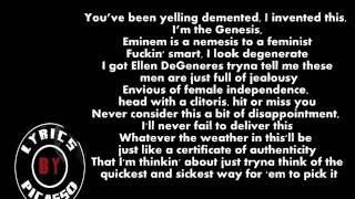 Tech N9ne ft. Eminem & Krizz Kaliko - Speedom Wwc2 (LYRICS)