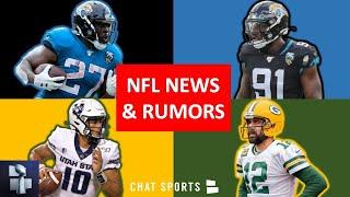 NFL Trade Rumors On Yannick Ngakoue & Leonard Fournette + Aaron Rodgers Future & NFL Draft Rumors