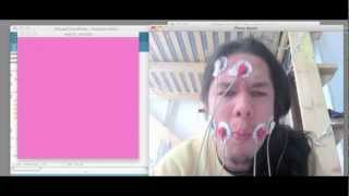 EMG test on facial muscles 1