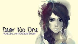 Dear No One - Tori Kelly [Lyrics + DL]