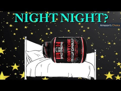Natural Sleep Aid | Amazon's Choice | Iron Brothers Comatose Sleep Formula Review