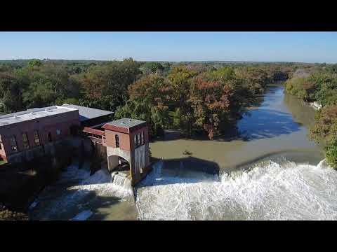 Guadalupe River Seguin Power Plant Texas Grill