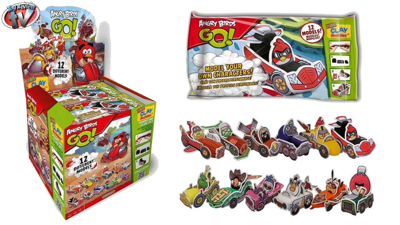 Angry Birds Go Toys : Angry birds go mini clay buddies mystery blind bag toy