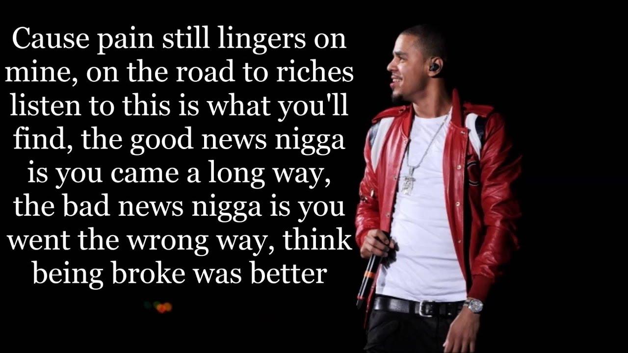Love Yourz J Cole Lyrics Youtube